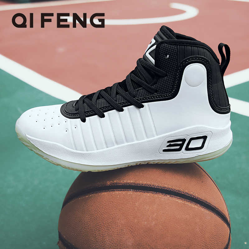 High Quality Basketball Shoes Men Sneakers Boys Basket Shoes Winter High Top Anti-slip Outdoor Sports Shoes Trainer Women Summer