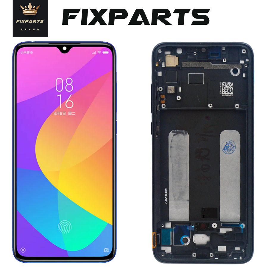 Super AMOLED Screen For Xiaomi Mi CC9 LCD Display Touch Screen Digitizer 6.39'' Mi9 Lite Replacements For Mi 9 Lite M1904F3BGLCD