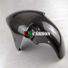 Front Fender For Kawasaki ZX 7R/RR 1996+ Full Carbon Fiber Motorcycle Accessories frame slider pad for kawasaki ninja zx 7r zx7r zx 7r 1997 1998 1999 1996 2003 motorcycle crash pad falling protection