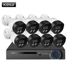 Corina H.265 8 Kanaals Poe Bewakingscamera Kit 5MP Twee Weg Audio Ip Camera Nachtzicht Video Surveillance systeem Cctv Kit