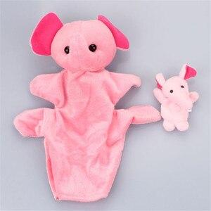 2 шт. Милая мышь мультфильм зоологические животные пальчиковые игрушки из плюша игрушки детские куклы для детей Мальчики Девочки пальчиков...