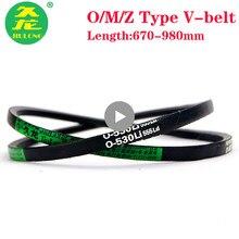 JIULONG обернутая v-образная лента типа Z/O/M, черная резиновая лента, механический привод Z864/889/900/914/940/950/965/991 в-лента