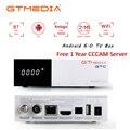 ТВ-приёмник GTmedia GTC DVB-S2 DVB-C ISDBT Amlogic S905D android 6 0 2 Гб 16 Гб спутниковый ресивер 1 год