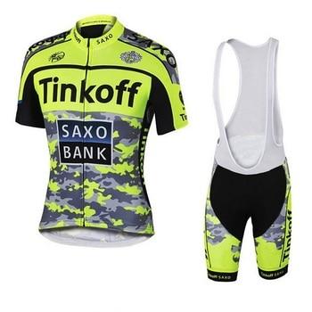 2020 Tinkoff deporte conjunto de Ropa de Ciclismo bicicleta Ropa Maillot Ciclismo...