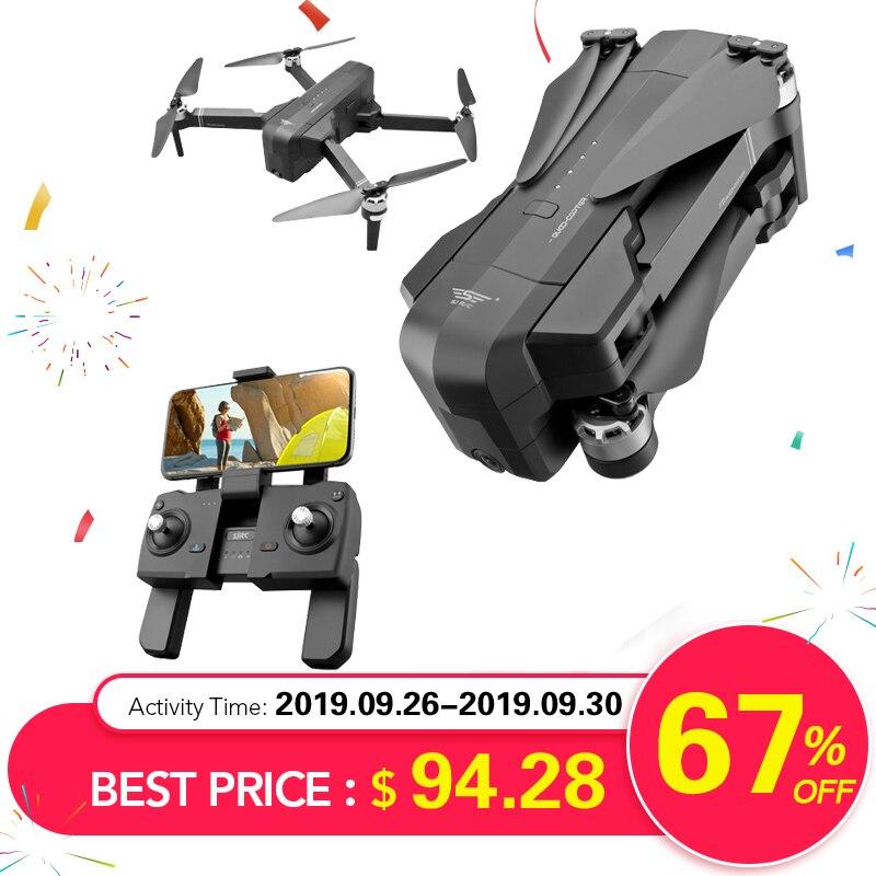 OTPRO mi Drone WIFI FPV con 4K 30fps 1080P cámara de 3 ejes cardán GPS RC Drone quadcopter RTF con la Trans mi tter Z5 F11 DRON-in Helicópteros RC from Juguetes y pasatiempos    1