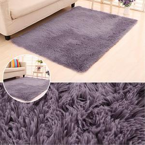 RULDGEE Shaggy Carpet for Living Room Home Plush Floor Alfombra Fluffy Mats Kids Room Faux Fur Area Rug Living Room Silky Rugs