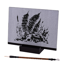 Paint Buddha-Board Reusable Meditation-Art with Water-Brush Stand Release-Pressure Release-Pressure