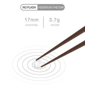 Image 4 - SQRMINI X20 Ultra מיני אלחוטי אוזניות נסתרת קטן Bluetooth אוזניות 3 שעות מוסיקה לשחק כפתור שליטה Earbud עם תשלום Cas