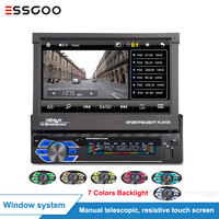Essgoo 7'' Car Multimedia Player 1 din Autoradio 1din Stereo Video MP5 Car Radio Universal Mirror Link GPS Navigation Optional