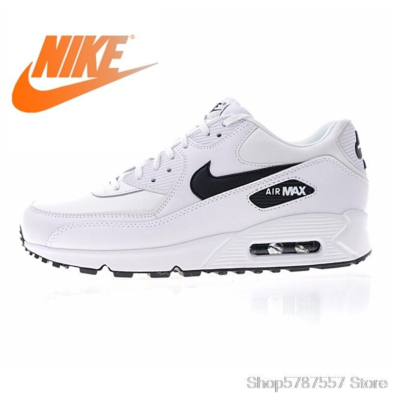 Airmax 90 Original NIKE AIR MAX 90 ESSENTIAL men's Running Shoes Sport Outdoor Sneakers Athletic Designer Footwear 325213-131
