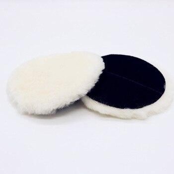 """Almohadilla de pulido de lana para rueda de coche, almohadillas para pulir y pulir lana de 3 """"4"""" 5 """"6"""" 80/100/125/180mm"""