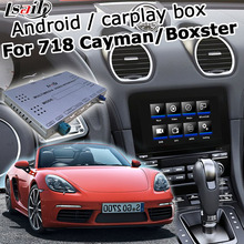 Android / carplay interface box für Porsche 718 Cayman Boxster PCM 4,0 2016-2017 video-interface-box GPS navigation youtube