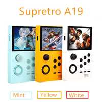 Powkiddy A19 Neue Retro Handheld Spielkonsole Unterstützung WIFI TV Verbindung Video Spiel Konsole Für PS N64 PSP MD FC emulator spiele