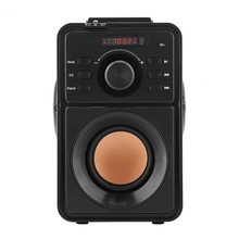 цена на Handheld Stereo Wireless Bluetooth Digital Lcd Speaker Outdoor Speaker Support Tf Usb Aux Fm Remote Control