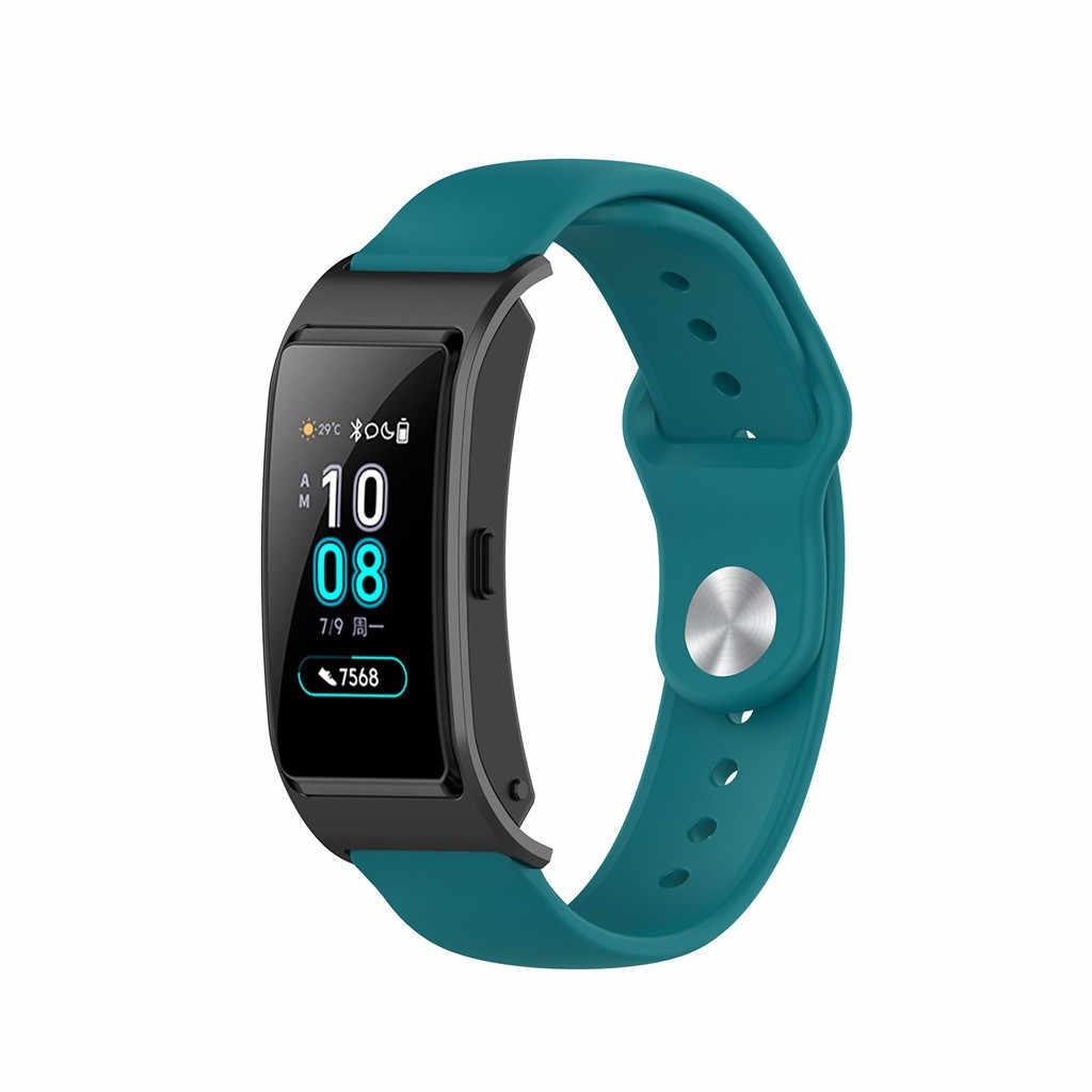 Voor Fitbit Lading HR Vervanging Horlogeband Siliconen Horlogeband voor Fitbit Lading HR Activiteit Tracker Metalen Gesp Wrist Band
