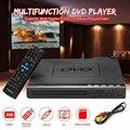Портативный DVD-плеер, EVD-плеер, многофункциональный DVD-плеер, многоугольный обзор и масштабирование, любимые фильмы, вилка EU
