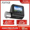 Купон US $6.00 70mai Dash Cam Pro Plus 70mai A500 Встроенный GPS координаты скорости ADAS Car DVR Cam 24H монитор парковки 1944P