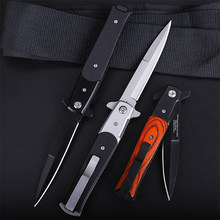 Jacht Zakmes Camping Wandelen Outdoor Zelfverdediging Jacht Survival Mes Quick Open Draagbare Tactische Outdoor Jackknife(China)