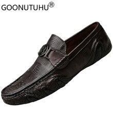hakiki sonbahar erkekler ayakkabılar