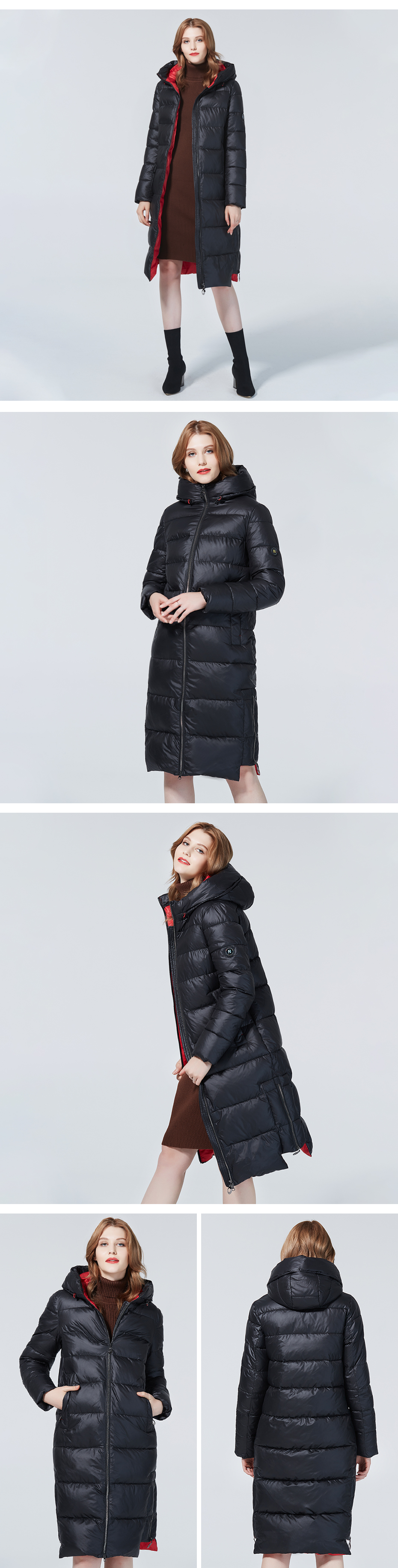 Diaosnowly 2020 new long thick jackets for women winter hooded fashion winter outwear coats for women warm long parka fashion winter clothes women long winter brand thick jacket and coat women winter hooded parka