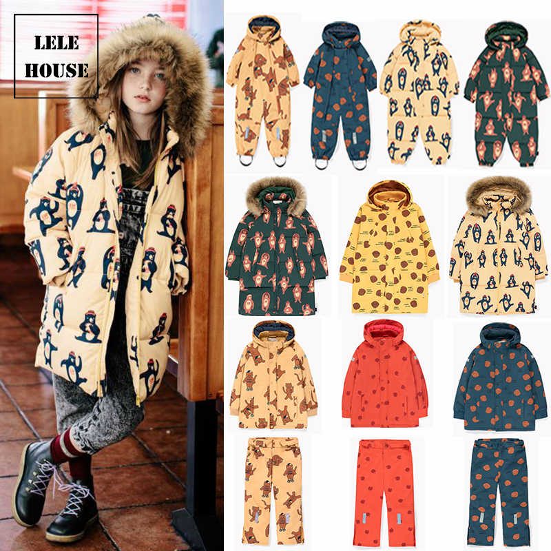 IN STOCK  TC Toddler Girl Winter Clothes Christmas Kids Clothes Boys Snowsuit Boys Coats Winter Kids Down Coat with Hood