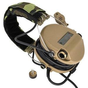 Image 2 - Tactical Softair Sordin słuchawki Pickup słuchawki z redukcją hałasu polowanie Airsoft ochrona słuchu słuchawki DE
