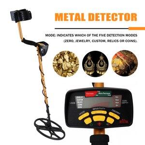 Image 1 - Detector de metais subterrâneo profissional portátil alta sensibilidade jóias ouro detector de tesouro metal localizador do parafuso prisioneiro
