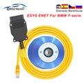 YDL ENET для BMW F-серия Ethernet to OBD Интерфейс E-SYS ENET ICOM для BMW авто инструмент эбукодирования OBD OBD2 автомобильный диагностический кабель