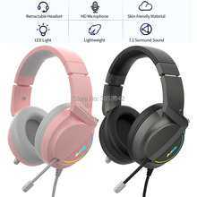 PC Headset High-Quality Earphone Gamer Computer Laptop Deep-Bass Stereo No USB with