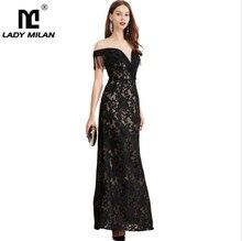 Womens Evening Party Prom O Neck Short Sleeves Embroidery Tassels Patchwork Elegant Long Designer Dresses
