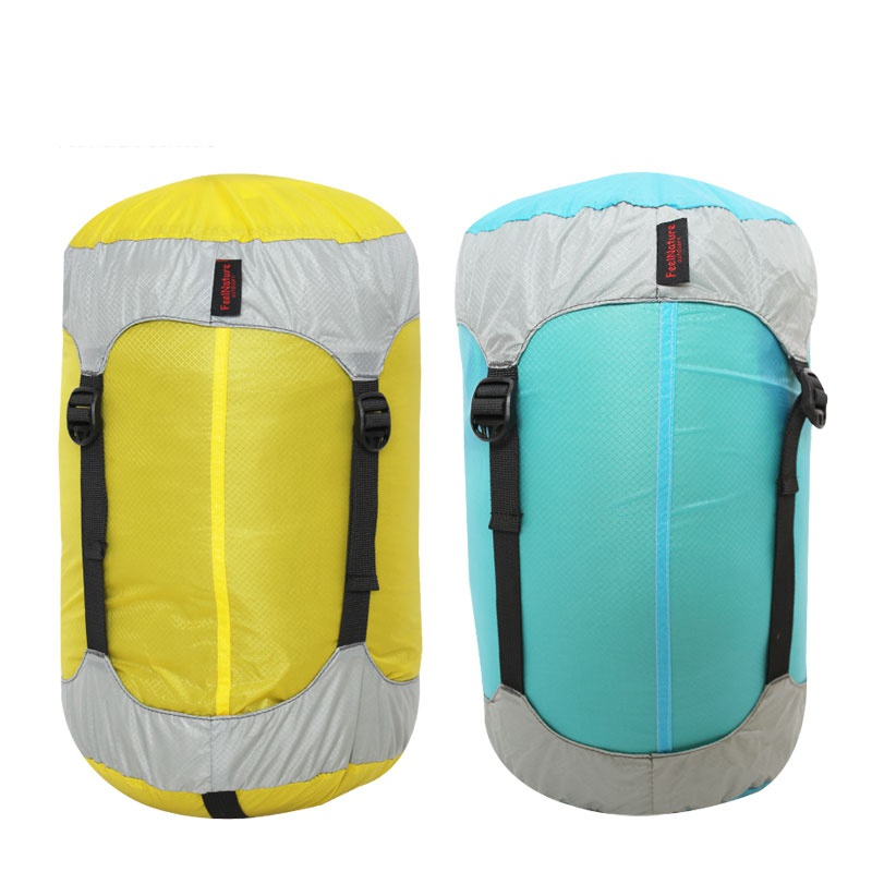 Outdoor Sleeping Bag Compression Stuff Sack Convenient Lightweight Sleeping Bag Storage Package Camping Hiking Outdoor