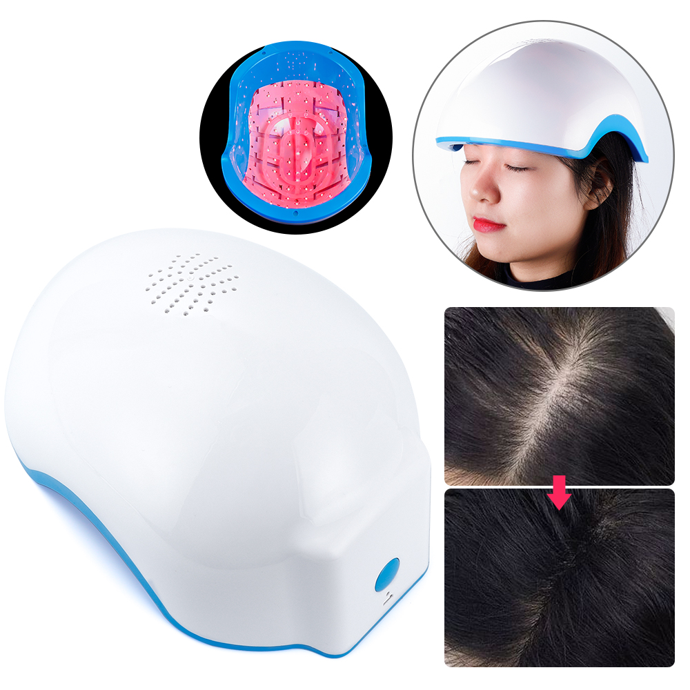 678nm Laser Therapy Hair Growth Helmet Anti Hair Loss Device Treatment Anti Hair Loss Promote Hair Regrowth Cap Massage