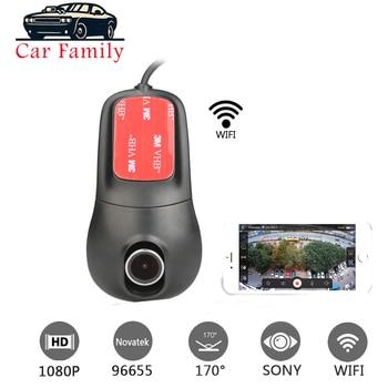 Full HD 1080P Novatek 96655 IMX 322 Car DVR WIFI Dash Camera Car Camera Dash Cam Video Recorder Night Vision G-sensor