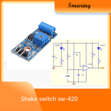 SW-420 Getaran Sensor UNTUK ARDUINO Digital Tilt Shake Shock Modul Sensor Gerak Alarm Switch Detector Elektronik DIY Kit 3.3- 5(China)