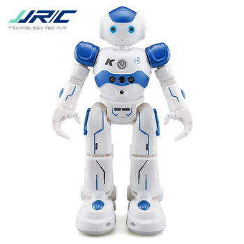 JJR/C JJRC R2 USB Charging Singing Dancing Gesture Control Blue / Pink RC Robot For Kids Children Model Outdoor Toys
