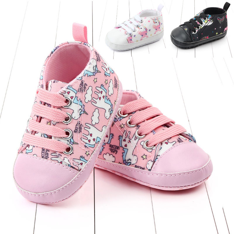 Newborn Baby Shoes Boy Girl Toddler First Walkers Shallow Cotton Comfort Soft Anti-slip Warm Hand Knitting Cartoon Infant Shoes