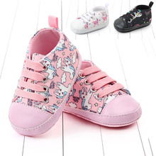 Newborn Baby Shoes Boy Girl Toddler First Walkers Shallow Co