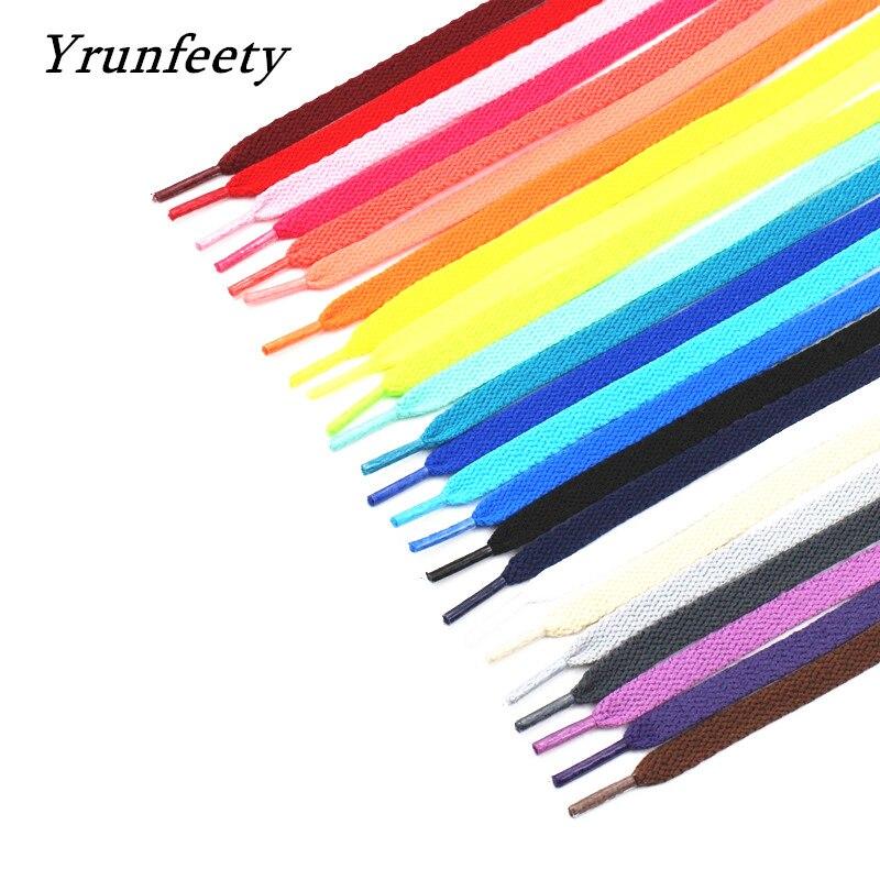Шнурки с надписью «OW» для обуви, черные, белые, оранжевые, зеленые, фиолетовые шнурки для обуви на плоской подошве, 2021