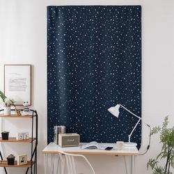 Nowoczesne zasłony na rzep do salonu sypialnia popularny srebrny gwiazdy zasłony zaciemniające beżowy niebieski zielony granatowy różowy Panel zasłony