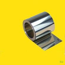 Najnowszy blacha ze stali nierdzewnej srebrna blacha ze stali nierdzewnej 304 0.1-0.8mm * 100mm * 1000mm do maszyn precyzyjnych