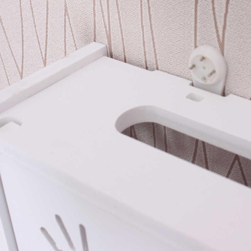Yaratıcı wifi kablosuz router oturma odası alma saklama kutusu TV Set üstü raf yığınları kabin rafı soket kapağı