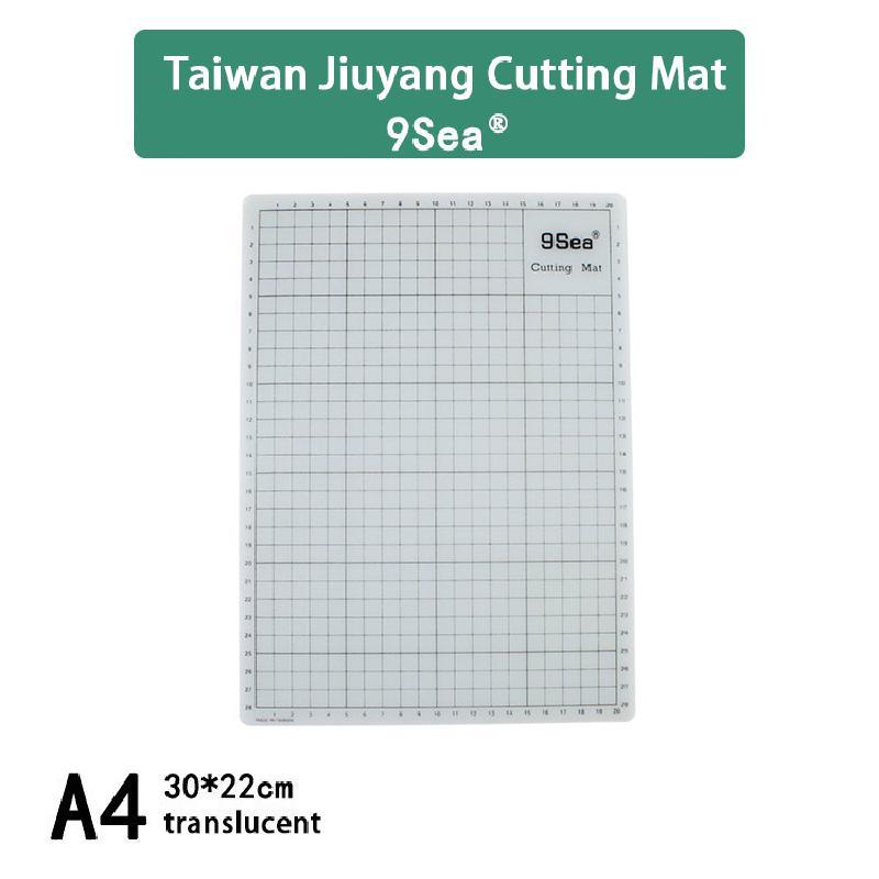 High-quality A4 Translucent Cutting Board Carved Shim Pad Pvca4 Cutting Board Double-sided Cutting Board Automatically Heals