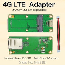 Mini PCI-E Mini PCI-Express к USB адаптеру карта WWAN к USB адаптеру с слотом для sim-карты для 3g/4G LTE WWAN/LTE модуля