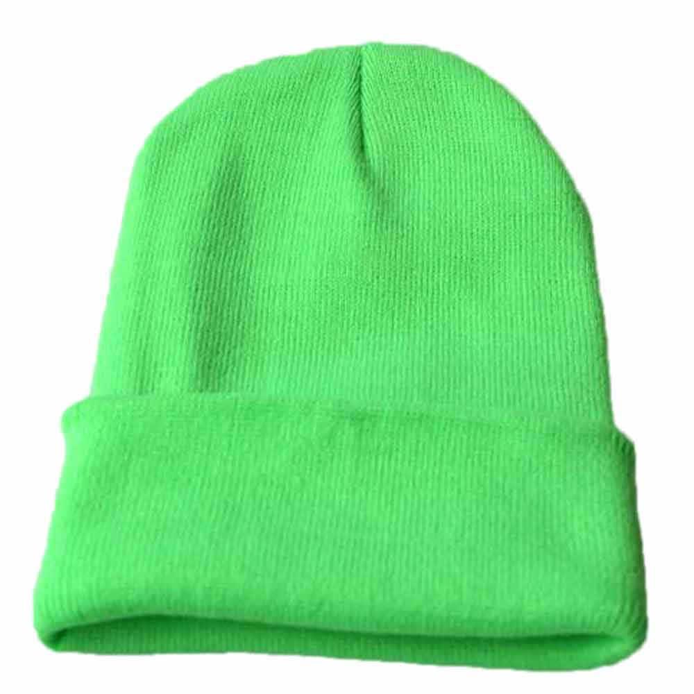 Unisex Slouchy Breien Beanie Hip Hop Cap Warm Winter Ski Hoed Blends Soft Warm Gebreide Cap Mannen Vrouwen SkullCap Hoeden gorro #50