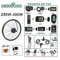2021 neue Heiße Verkäufe 250W 350W 500W 1000W 1500W 16 20 24 26 27,5 28 29 zoll Elektrische Fahrrad Conversion Kit Für Elektrische Stick