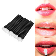 100 PCS Disposable Lip Brush Make Up Brushes Set Mascara Wands Pen Cleaner Cleaning Eyelash Makeup Applicators
