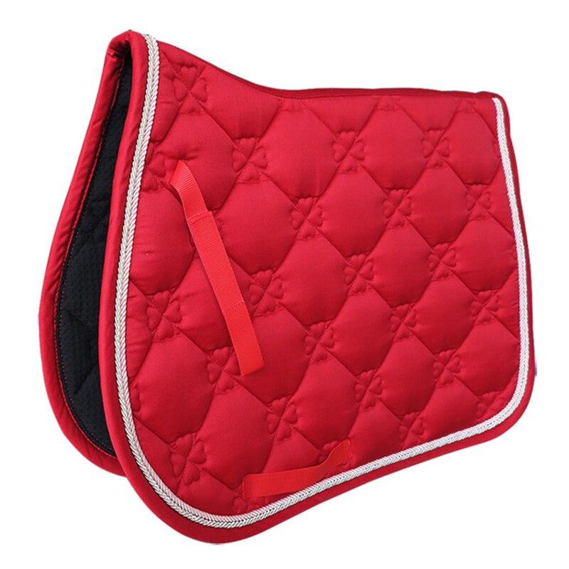 Horse Saddle Pad Horse Riding Saddle Cushion Horse Accessories Breathable Performance Equipment Saddle Cover Outdoor Saddle Mat