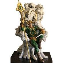 Pedido personalizado privado loki trono david pereira 1/4 estátua do trono rochoso