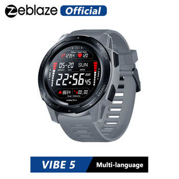 New Zeblaze VIBE 5 IP67 Waterproof Heart Rate Long Battery Life Color Display Screen Multi-sports Modes Smart Watch Men - DISCOUNT ITEM  46% OFF All Category