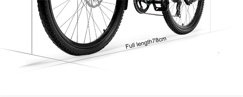 Cheap 26inch Electric mountain bike 36V lithium battery travel electric bicycle lighweight Ebike 20